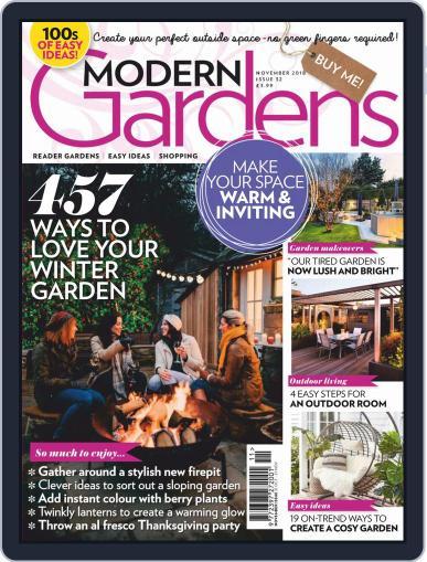 Modern Gardens (Digital) November 1st, 2018 Issue Cover
