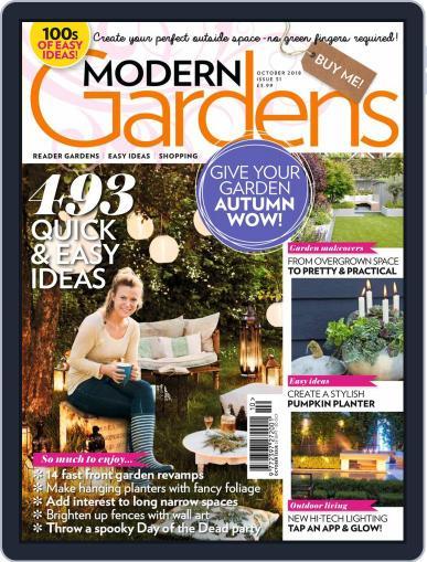 Modern Gardens (Digital) October 1st, 2018 Issue Cover