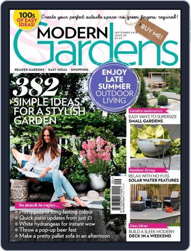 Modern Gardens (Digital) September 1st, 2018 Issue Cover
