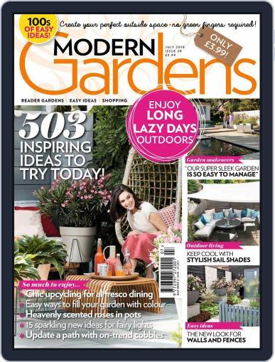 Modern Gardens July 1st, 2018 Digital Back Issue Cover