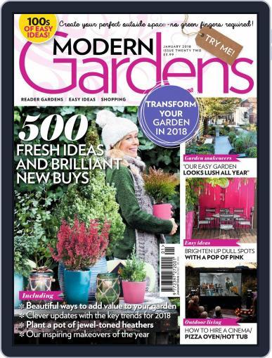 Modern Gardens (Digital) January 1st, 2018 Issue Cover