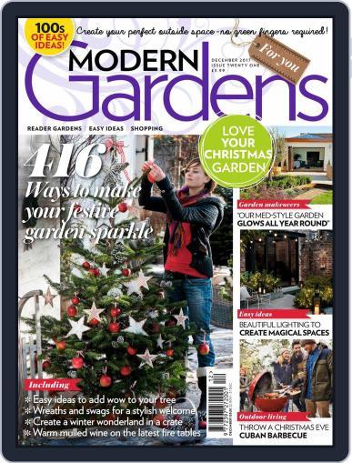 Modern Gardens December 1st, 2017 Digital Back Issue Cover