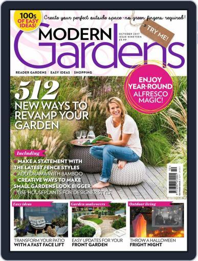 Modern Gardens October 1st, 2017 Digital Back Issue Cover