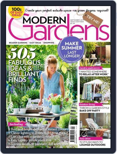 Modern Gardens (Digital) September 1st, 2017 Issue Cover