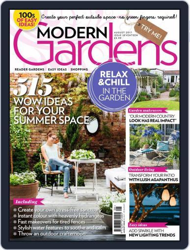 Modern Gardens August 1st, 2017 Digital Back Issue Cover