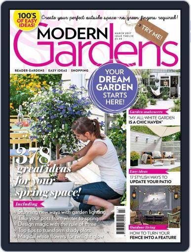 Modern Gardens (Digital) March 1st, 2017 Issue Cover