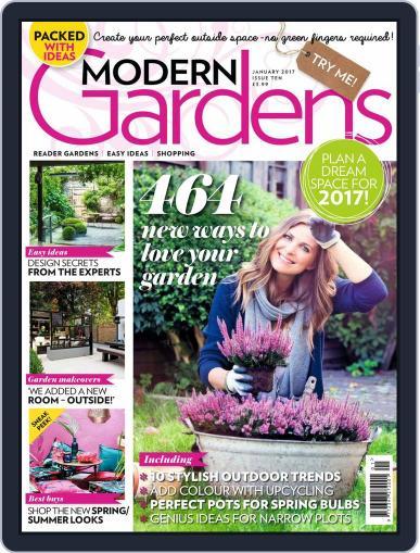 Modern Gardens January 1st, 2017 Digital Back Issue Cover