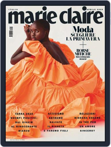 Marie Claire Italia April 1st, 2020 Digital Back Issue Cover