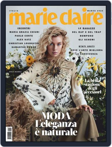 Marie Claire Italia March 1st, 2020 Digital Back Issue Cover