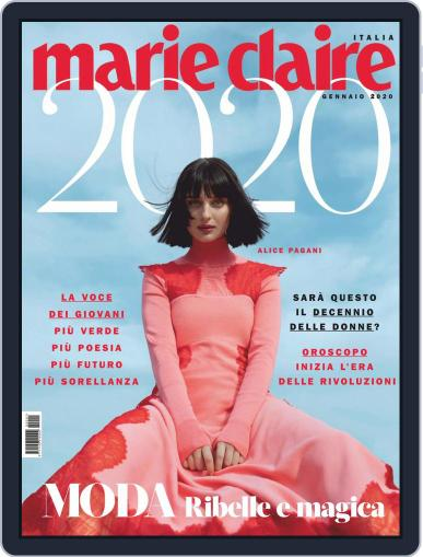 Marie Claire Italia January 1st, 2020 Digital Back Issue Cover