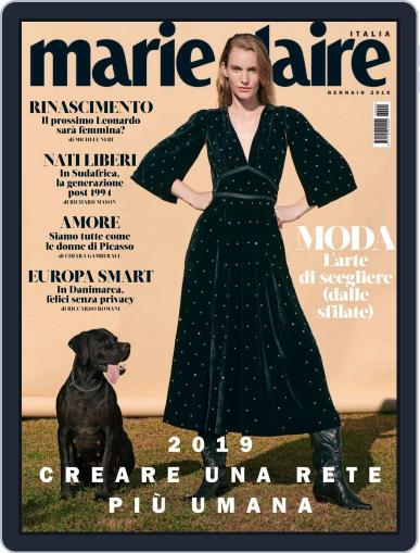 Marie Claire Italia (Digital) January 1st, 2019 Issue Cover