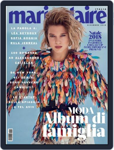 Marie Claire Italia (Digital) December 1st, 2018 Issue Cover