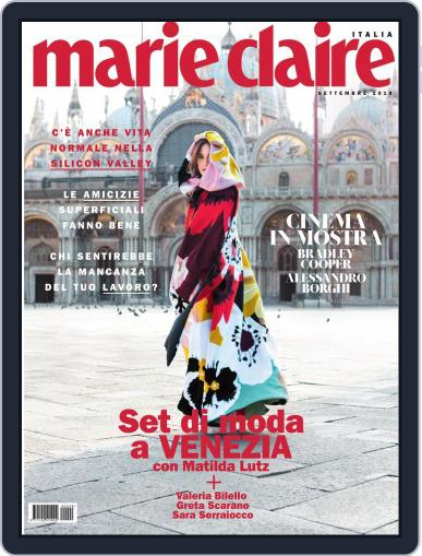 Marie Claire Italia (Digital) September 1st, 2018 Issue Cover