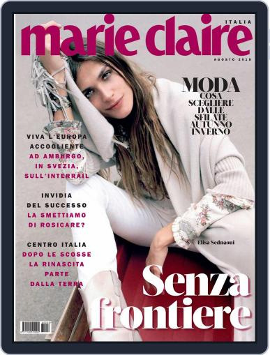 Marie Claire Italia (Digital) August 1st, 2018 Issue Cover