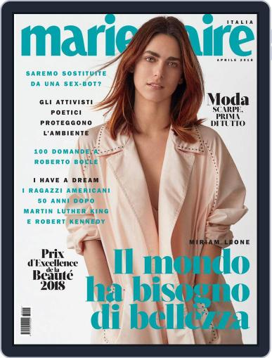 Marie Claire Italia (Digital) April 1st, 2018 Issue Cover