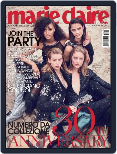 Marie Claire Italia (Digital) December 1st, 2017 Issue Cover