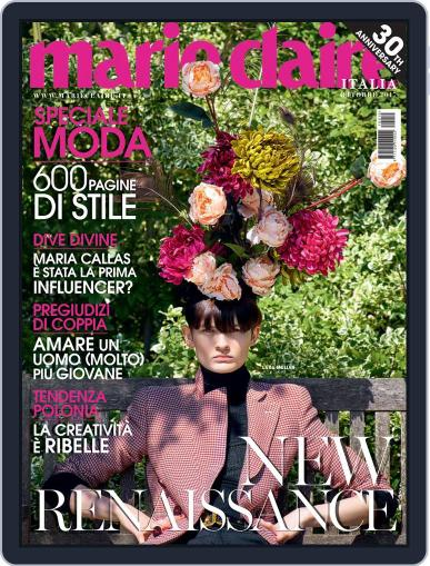 Marie Claire Italia (Digital) October 1st, 2017 Issue Cover