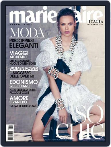 Marie Claire Italia (Digital) December 1st, 2016 Issue Cover