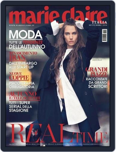 Marie Claire Italia August 13th, 2016 Digital Back Issue Cover