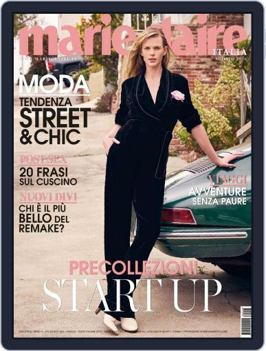 Marie Claire Italia July 15th, 2016 Digital Back Issue Cover