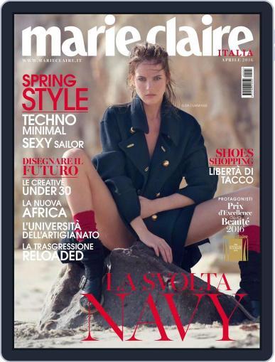 Marie Claire Italia (Digital) March 16th, 2016 Issue Cover