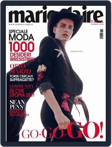 Marie Claire Italia (Digital) February 16th, 2016 Issue Cover
