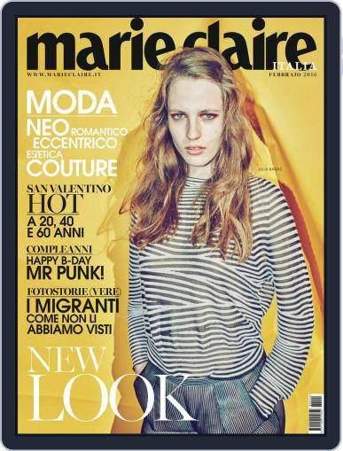 Marie Claire Italia February 1st, 2016 Digital Back Issue Cover