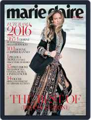 Marie Claire Italia (Digital) Subscription January 1st, 2016 Issue