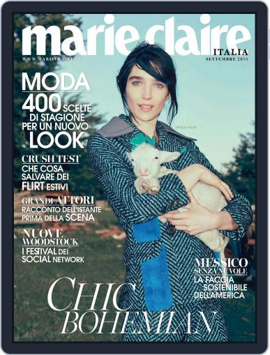 Marie Claire Italia September 1st, 2015 Digital Back Issue Cover