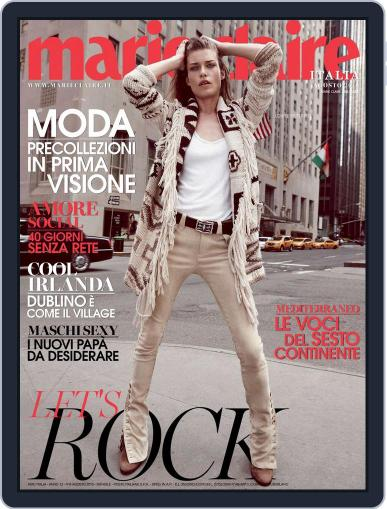 Marie Claire Italia August 1st, 2015 Digital Back Issue Cover