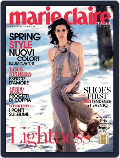 Marie Claire Italia (Digital) March 17th, 2015 Issue Cover