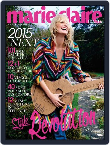 Marie Claire Italia December 17th, 2014 Digital Back Issue Cover