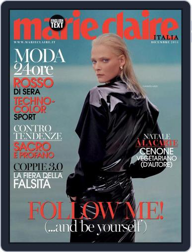 Marie Claire Italia November 18th, 2014 Digital Back Issue Cover