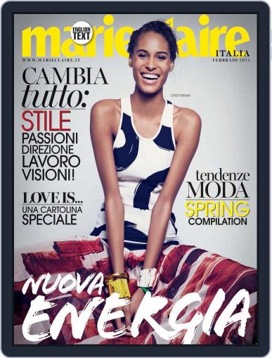 Marie Claire Italia (Digital) January 20th, 2014 Issue Cover