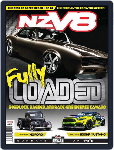 NZV8 (Digital) May 1st, 2018 Issue Cover