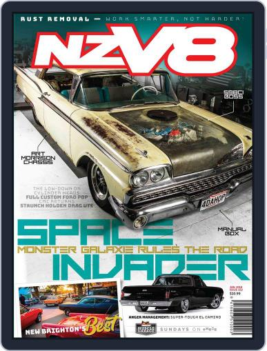 NZV8 (Digital) January 1st, 2018 Issue Cover