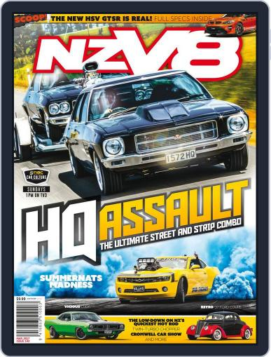 NZV8 (Digital) March 1st, 2017 Issue Cover