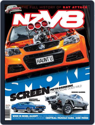 NZV8 January 1st, 2017 Digital Back Issue Cover