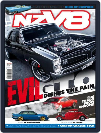 NZV8 (Digital) October 1st, 2016 Issue Cover