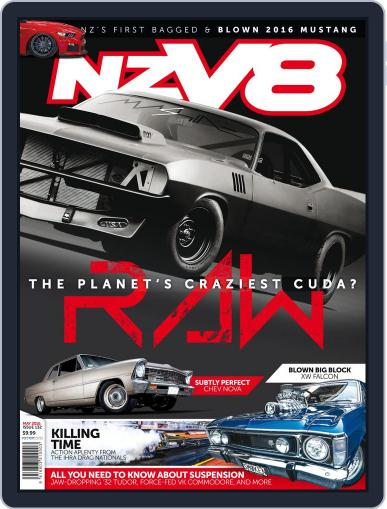 NZV8 (Digital) April 6th, 2016 Issue Cover