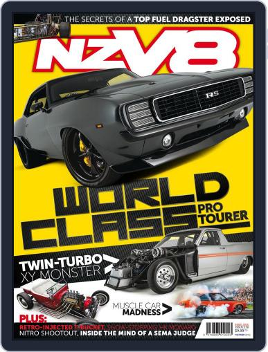 NZV8 (Digital) February 4th, 2016 Issue Cover