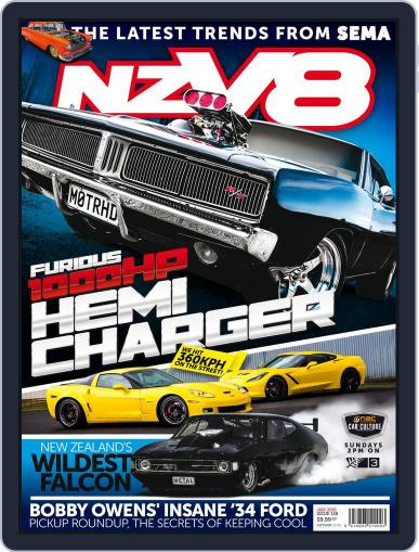 NZV8 (Digital) November 30th, 2015 Issue Cover