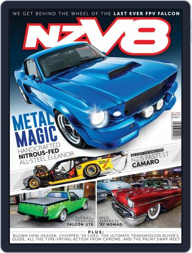 NZV8 August 28th, 2014 Digital Back Issue Cover