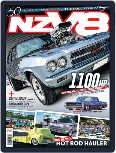 NZV8 (Digital) April 6th, 2014 Issue Cover