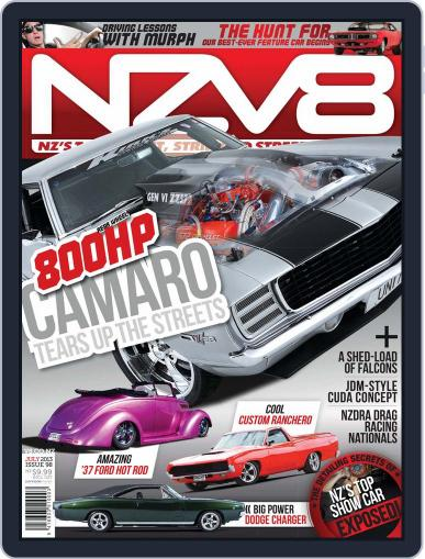 NZV8 (Digital) June 9th, 2013 Issue Cover
