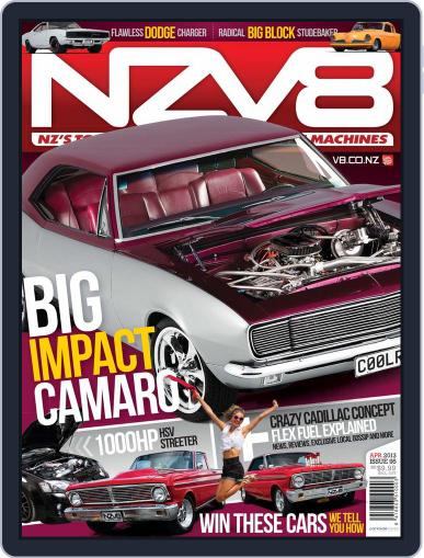 NZV8 (Digital) March 10th, 2013 Issue Cover