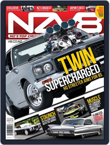 NZV8 (Digital) January 6th, 2013 Issue Cover