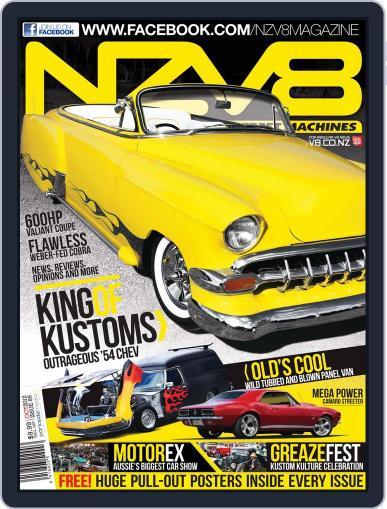 NZV8 September 3rd, 2012 Digital Back Issue Cover
