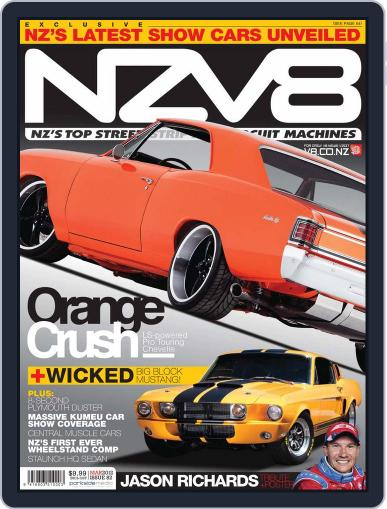 NZV8 (Digital) February 12th, 2012 Issue Cover