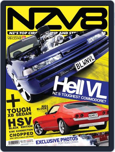 NZV8 January 3rd, 2012 Digital Back Issue Cover